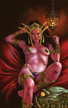 Dejah Thoris No.5 by JoeJusko.deviantart.com on @deviantART