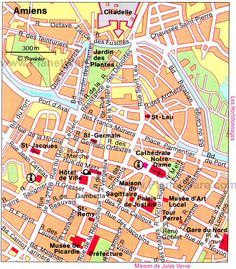 Nantes Map Tourist Attractions Travel Pinterest Nantes and