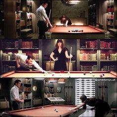 Jamie Dornan-Dakota Johnson  This will be a great scene