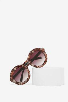 Hold the Shine Circle Shades Accessoires, Haute Couture, Lunettes De  Cercle, Femmes À fb541f09677b