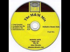 Marvin Gaye - I Want You (John Morales Accapella Dub Mix)