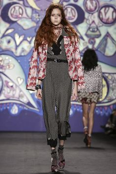 Anna Sui Ready To Wear Spring Summer 2015 New York