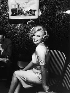 "Marilyn Monroe in Chicago for ""Some Like It Hot"", 1959. By Manfred Kreiner."