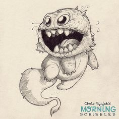 Go for it! #morningscribbles | by CHRIS RYNIAK