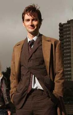 "Tenth Doctor, David Tennant, Doctor Who, my favorite quotes of his so far: ""This new hand is a fighting hand!""  ""Not bad for a man in jamjams."" ""I wanted to be ginger!"""