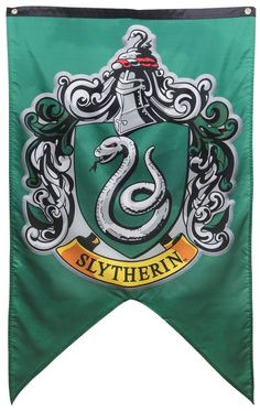 Harry Potter Slytherin Banner - COSPLAY IS BAEEE!!! Tap the pin now to grab yourself some BAE Cosplay leggings and shirts! From super hero fitness leggings, super hero fitness shirts, and so much more that wil make you say YASSS!!!