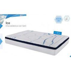Colchón de viscoelástica con gel Ice de Star. Colchonerias online, máxima seriedad.