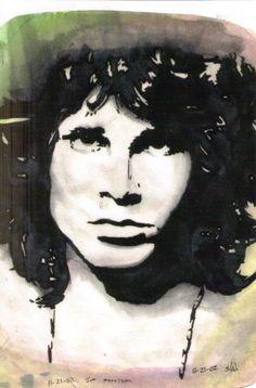 Morrison -watercolor by Shannon,age 18