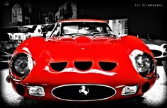 Ferrari GTO 250 - my baby. It's going to be parked in the roundabout driveway :)