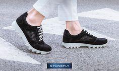 Aspettando il sole, una passeggiata con Speedy ai piedi, per prendere con leggerezza questa giornata! #sneakers #scarpe #zapatos #Stonefly #mystonefly