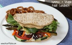 hummus veggie foldit Hummus & Veggie Foldit Sandwich + Flatout Giveaway Reminder (4 Winners Get $50 Publix Gift Card)