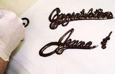 Cómo escribir en un pastel