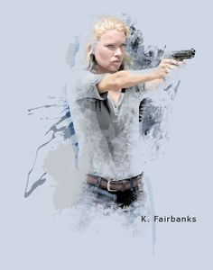 Shoot Me Gerahmtes Poster F/ür Fans Und Sammler 40 x 30 cm Daryl 1art1 The Walking Dead