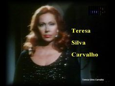 """Choram Meus Olhos"" Teresa Silva Carvalho - YouTube"