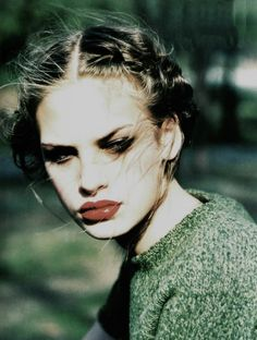 Jenny Knight, Vogue Italia, September 1997. Photo: Ellen von Unwerth.