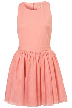 Tulle Skirt Dress by Dress Up Topshop