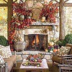 Gorgeous fall decor!