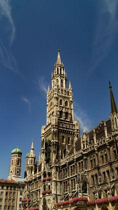 Munich, Big Ben, Building, Travel, Human Settlement, Places, Viajes, Buildings, Destinations