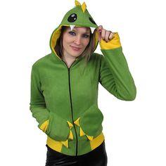 Poizen Industries Cupcake Cult Emo Gothic Punk Monster Green/Yellow Hood £28.00