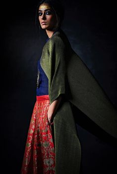 The designer gives us a sneak peek at her upcoming collection titled 'The New Emperor' Ethnic Fashion, Indian Fashion, Womens Fashion, Payal Khandwala, Brocade Lehenga, Indian Fabric, Evening Outfits, Lakme Fashion Week, Festival Wear