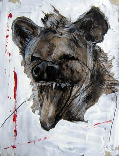 We offer outstanding artworks by young international upcoming artists to order and buy online - The online art gallery for the best art investment! Wolf Painting, Upcoming Artists, Powerful Images, Wild Dogs, Foxes, Spirit Animal, Online Art Gallery, Art Tutorials, Feathers