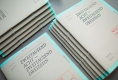 PF DESIGN STUDIO Self Promotion Booklet by Pascal Fedorec, via Behance