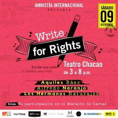 """Concierto """"Write For Rights"""" de Amnistía Internacional tendrá lugar en el Centro Cultural Chacao http://crestametalica.com/concierto-write-for-rights-amnistia-internacional-tendra-lugar-centro-cultural-chacao/ vía @crestametalica"""