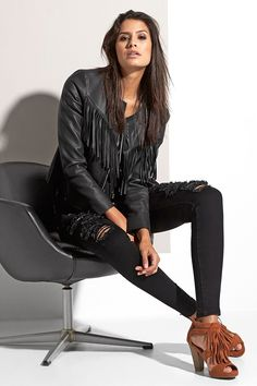 BACKSTAGE Ss16, Backstage, Leather Jacket, Jackets, Fashion, Fashion Styles, Studded Leather Jacket, Down Jackets, Moda