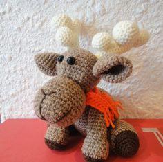 Рождественский ОЛЕНЬ Ч-1 Christmas deer P-1 Crochet