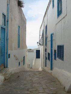 Sidi Bou Said. Túnez