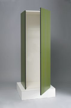 Fig. 15: Ettore Sottsass, Jr. (Italian, 1917–2007), designer, Poltronova, Montale, Italy, established 1957, manufacturer, Wardrobe (also known as Superbox), 1968. Wood and plastic laminate. High Museum of Art (2010.103); purchase through prior acquisitions. Photographs by Michael McKelvey.