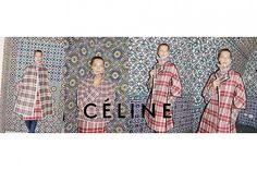 celline fall winter Daria Werbowy Lands Celine Fall 2013 Campaign by Juergen Teller Daria Werbowy, Celine Logo, Celine Campaign, Tartan, Juergen Teller, Another Love, Phoebe Philo, Fashion Advertising, Print Advertising