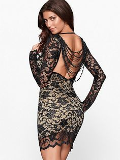 I love this BEADED LACE DRESS from Frederick's of Hollywood!