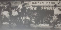 27 January 1996 The Port Vale keeper, Paul Musselwhite, drops a left wing cross and Duncan Ferguson reacts quickest to stab the ball home in an FA Cup tie that ended 2-2