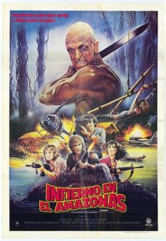 Cannibal Holocaust 4 : Режь и беги (Inferno in diretta) 1985