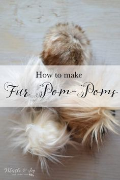 How to Make DIY Fur