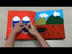 Quiet Book - Livro Educativo! - YouTube