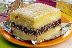 Bolo cremoso de coco: refrescante, fácil de fazer e muito gostoso Portuguese Desserts, Portuguese Recipes, Food Cakes, Love Cake, Spanakopita, Cream Recipes, Coconut Cream, Cheesesteak, Just Desserts