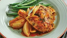 Looking for a hearty, delicious and inexpensive recipe for dinner tonight? Then try our Slow Cooker Whole Chicken with Sage Butter & Onions recipe from Sobeys. Easy comfort food that great for family suppers or for company. Onion Recipes, Turkey Recipes, Chicken Recipes, Slow Cooker Recipes, Crockpot Recipes, Cooking Recipes, Sage Chicken, Paleo Beans, Sage Butter