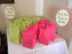 princess party favors | Party favors - for the boys (Prince Charmings) and for the girls ...