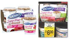 YoCrunch Greek Yogurt 4-Packs, Only $1.88 at Safeway!