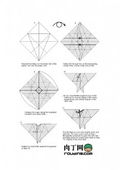 origami eagle rh pinterest com origami eagle nguyen hung cuong diagram pdf origami eagle instructions pdf