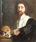 John Tradescant, Jr. (1608-1662) who, with his father, introduced many plants to England in the 17th century. The two were gardeners to noblemen and royalty, including Elizabeth I. Many of their travels were to Eurasia and the new colonies in North America. The often seen horse chestnut in England was one of their introductions. The genus Tradescantia (Spiderwort) was named after them.