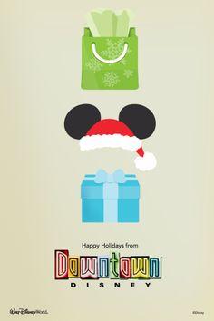 Show your smartphone's Christmas #DisneySide with this Walt Disney World holiday wallpaper! #WaltDisneyWorld