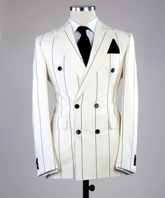 Formal Suits, Formal Dress, Dapper Men, Double Breasted Jacket, Blazers For Men, Elegant Outfit, Black Men, Perfect Fit, Suit Jacket