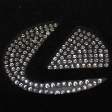 Luxury Emblem For Lexus Crystals Steering Wheel Stickers RX350 IS300 RX270 IS250