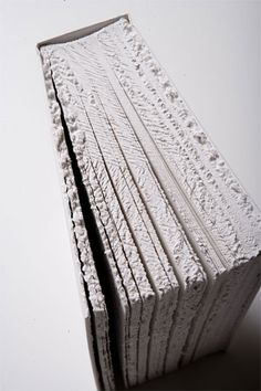 Frayed edges—highlights book as object / Sheila Hicks by (one of my favorite) book designers, Irma Boom