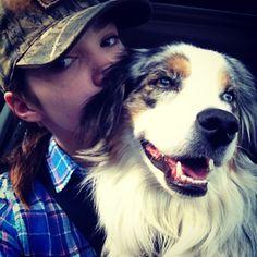 Alisha and her dog Zoey. :)