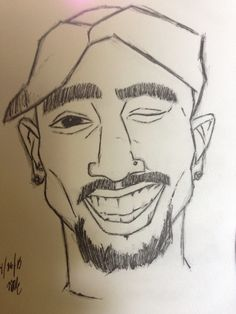 2pac drawing #2