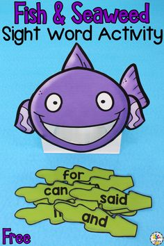 It's o-FISH-ally summer vacation! Keep your kids learning and avoid the summer slide with this fun Fish